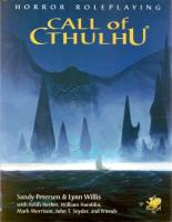Call of Cthulhu (Edition 5.5)