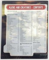 Aliens and Creatures - Book Only!