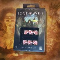 Lone Wolf Adventure Game Deluxe Dice Set (6)