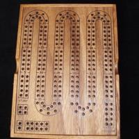 Cribbage Board w/Case