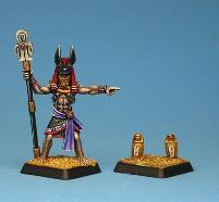Priest of Anubis w/Canopic Jars