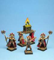 Spartan War Altar w/Guards