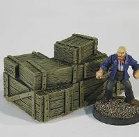 Large Crate Stack A