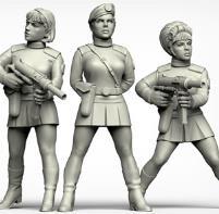 Female Minions w/Berets