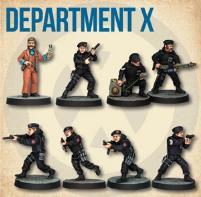 Department X Starter Cast