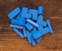 Catan Wood Base Set - Blue