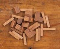 Catan Wood Base Set - Bronze Metallic