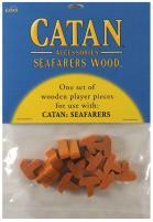 Catan Seafarers Wood Base Set - Orange