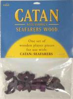 Catan Seafarers Wood Base Set - Purple