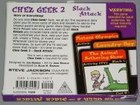 Chez Geek 2 - Slack Attack