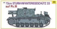 15cm Sturm-Infanteriegenchutz 33 w/Pz.III