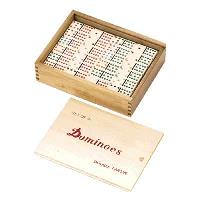 Double Twelve Standard Dominoes (Set of 91)