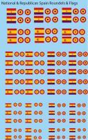 Spanish Civil War Flags & Roundels (1:285)