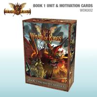 Wrath of Kings, Unit and Motivation Cards - Book 1