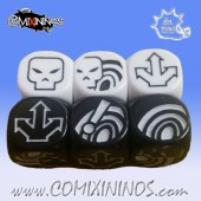 Bombas Dice - Black&White (6)