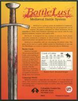 BattleLust Medieval Battle System