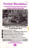 """Vol. 2, #1 """"Partisan Activities on the Eastern Front"""""""
