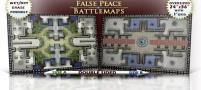 "False Peace Double-Sided Battlemat - 24"" x 36"", 1"" Square Grid"