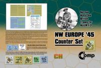 Northwest Europe '45 Counter Set