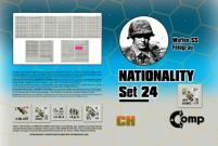 Nationality Set #24 - Waffen SS Feldgrau
