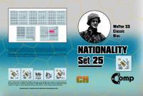 Nationality Set #25 - Waffen SS Classic Blau