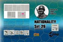 Nationality Set #26 - Fallschirmjaeger Feldgrau