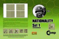 Nationality Set #1 - U.S.
