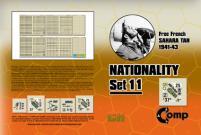 Nationality Set #11 - Free French Sahara Tan, 1941-43