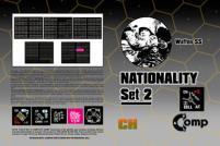 Nationality Set #2 - Waffen SS