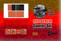 Red Berlin Counter Set - Red vs. Black in Berlin