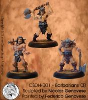 Barbarians (Resin)