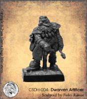 Dwarven Artificer (Resin)