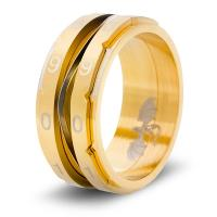 Dice Ring - Gold, Size 8 (Counter)