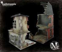 Ruined Millbank Modular Houses
