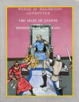 Maze of Zayene #1 - Prisoners of the Maze (1st Printing)