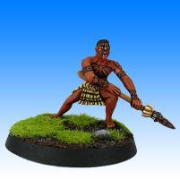 Pae Waka - Maori Warrior