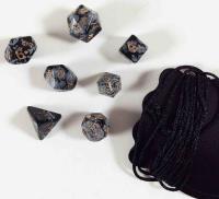 Snowflake Obsidian (black/white) (7 pc. set) w/Pouch