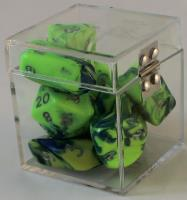 Full Poly Set Hybrid Green w/Blue (10)