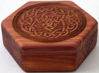 Aromatic Cedar - Open, Celtic Knot