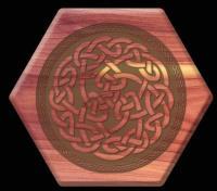 Aromatic Cedar - Beehive, Celtic Knot