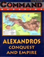 #10 w/Alexandros - Conquest and Empire