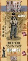 Axis Tank Commander in Custom Winter Uniform - Manfred