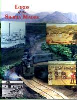 Lords of the Sierra Madre (2nd Edition)