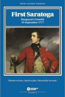 First Saratoga - Burgoyne's Gambit, 19 September 1777