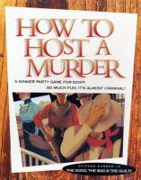 How To Host A Murder - The Good, The Bad & The Guilty (Cassette Version)