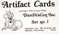 Artifact Cards Set #1