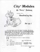 City Modules Set #1