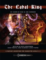 Cabal King, The (Gary Con II Edition)