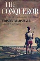 Conqueror, The - A Novel of Alexander the Great