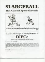 Slargeball - The National Sport of Irvania
